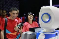 Robô Interativo da Aché no Notáveis do Ano 2015