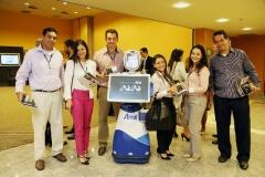 Robô Interativo da Amil no Seminário Amil 2020