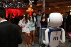 Robô fotográfico no aniversário da Luana em Montes Claros - MG