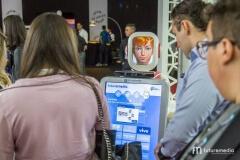 Robô Interativo na Brazil Promotion