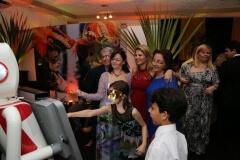 Robô fotográfico no casamento de Juliana e Gustavo em Niterói