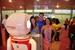 Robô Fotográfico nas edições da Expo Noivas & Festas