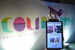 Robô Interativo da Maely no Festival Colibri