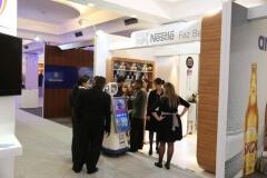 Robô Interativo da Nestlé na convenção Abras 2014