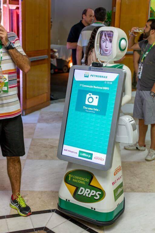 Robô fotográfico na 1ª Convenção Nacional DRPS Petrobras