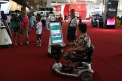 Robô Interativo da Petrobras - Salão do Automóvel de São Paulo