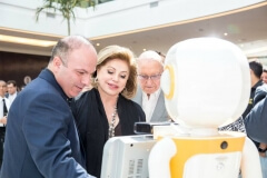 Robô Interativo na inauguração do Shopping Vila Velha - ES
