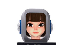 background home robo rmbot-d avatar futuremedia