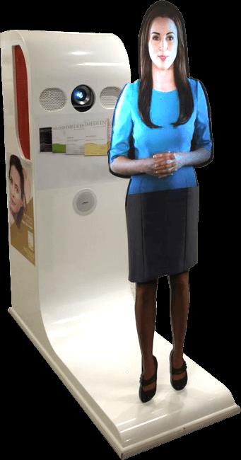 Atendente Virtual e Promotora Virtual Futuremedia
